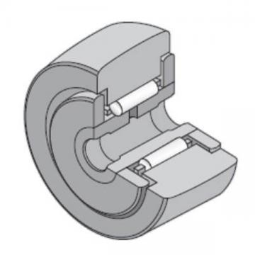 8 mm x 24 mm x 15 mm  NTN NATR8LL/3AS Needle roller bearings-Roller follower with inner ring