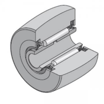 50 mm x 90 mm x 23 mm  NTN NA2210LL/3AS Needle roller bearings-Roller follower with inner ring