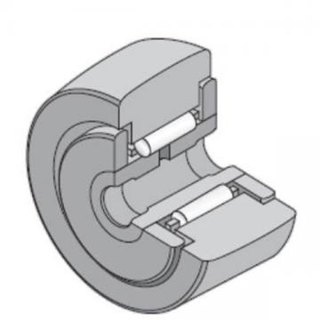 40 mm x 80 mm x 32 mm  NTN NATR40 Needle roller bearings-Roller follower with inner ring