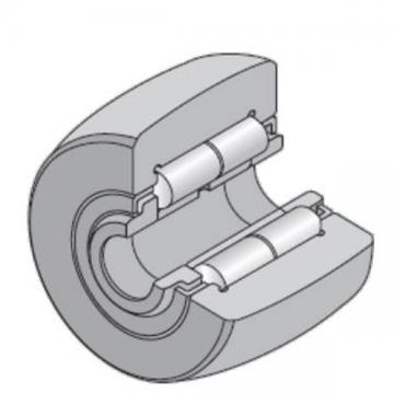 35 mm x 72 mm x 29 mm  NTN NUTR207/3AS Needle roller bearings-Roller follower with inner ring