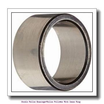 17 mm x 40 mm x 21 mm  NTN NATR17XLL Needle roller bearings-Roller follower with inner ring