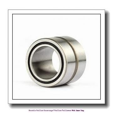 5 mm x 16 mm x 12 mm  NTN NATR5X Needle roller bearings-Roller follower with inner ring