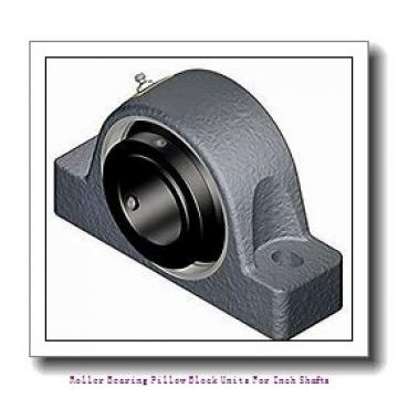 skf FSYE 2 3/4 N-118 Roller bearing pillow block units for inch shafts