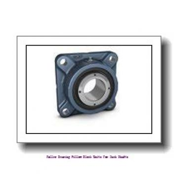 skf SYE 3-18 Roller bearing pillow block units for inch shafts