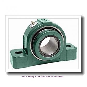 skf SYE 2 3/4 N-118 Roller bearing pillow block units for inch shafts