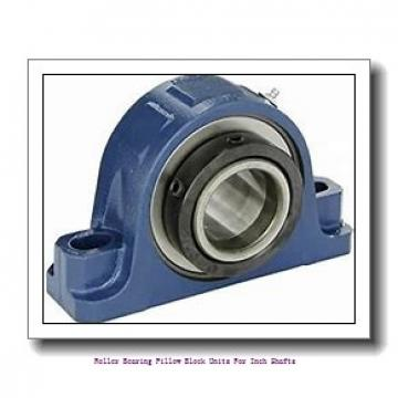 skf SYE 2-18 Roller bearing pillow block units for inch shafts