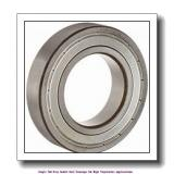 20 mm x 42 mm x 12 mm  skf 6004-2Z/VA201 Single row deep groove ball bearings for high temperature applications