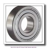 17 mm x 40 mm x 12 mm  skf 6203-2Z/VA201 Single row deep groove ball bearings for high temperature applications