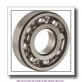 30 mm x 62 mm x 16 mm  skf 6206-2Z/VA201 Single row deep groove ball bearings for high temperature applications